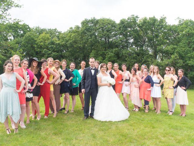 Le mariage de Fabien et Jessica à Paimpont, Ille et Vilaine 27