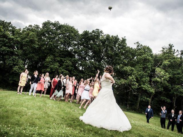 Le mariage de Fabien et Jessica à Paimpont, Ille et Vilaine 47