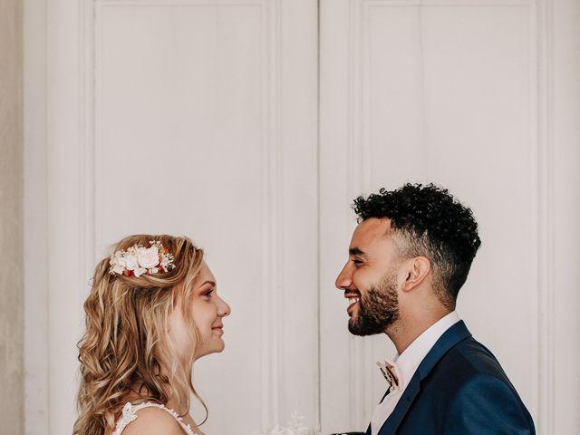 Le mariage de Hamza et Sarah à Besançon, Doubs 45