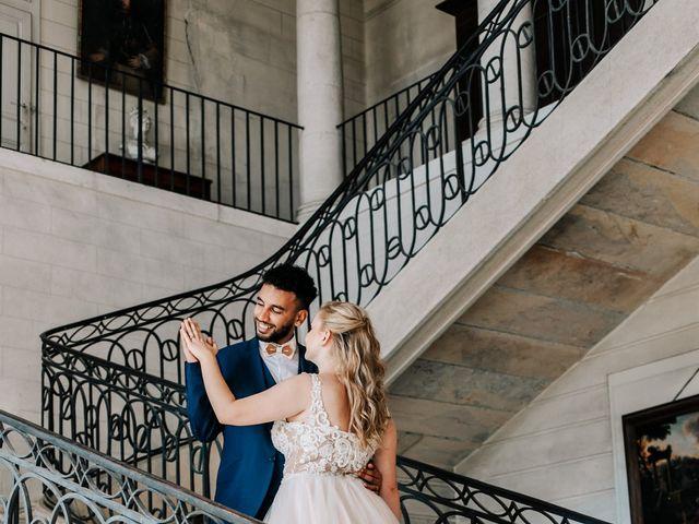 Le mariage de Hamza et Sarah à Besançon, Doubs 58
