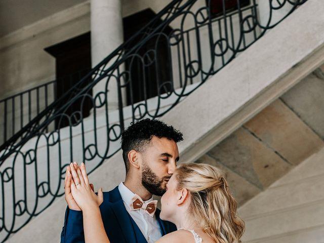 Le mariage de Hamza et Sarah à Besançon, Doubs 59