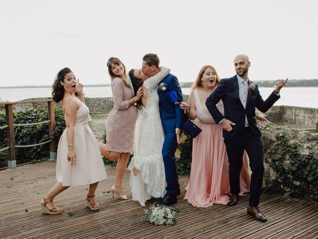 Le mariage de Matthieu et Emilie à Blaye, Gironde 44