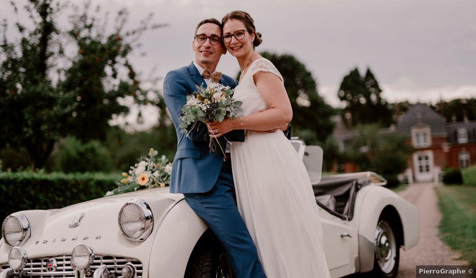 Le mariage de Laurent et Camille à Franqueville-Saint-Pierre, Seine-Maritime