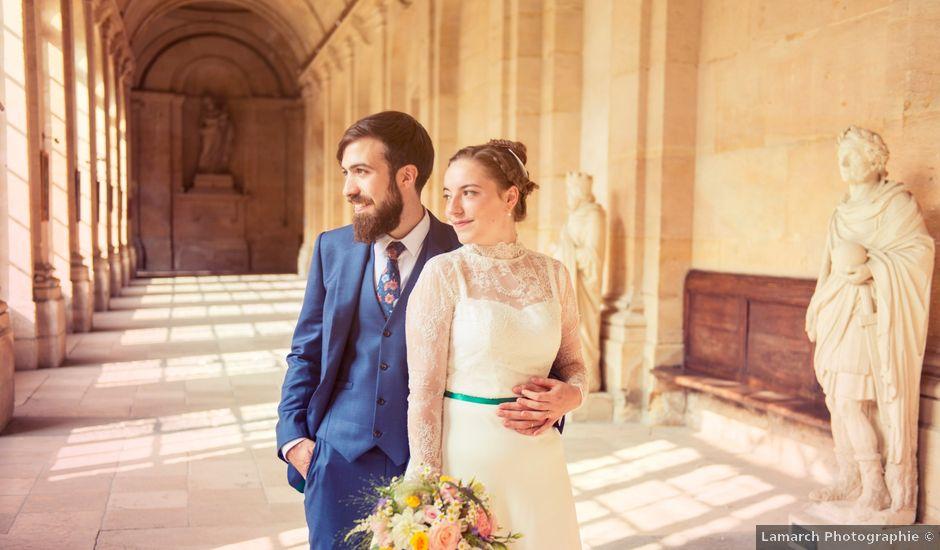 Le mariage de Charles et Margot à Saint-Denis, Deux-Sèvres