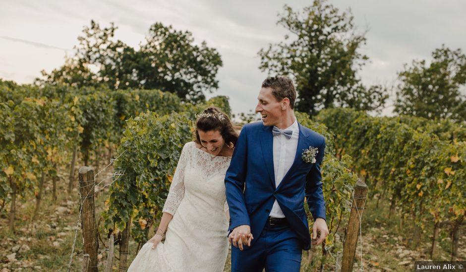 Le mariage de Matthieu et Emilie à Blaye, Gironde
