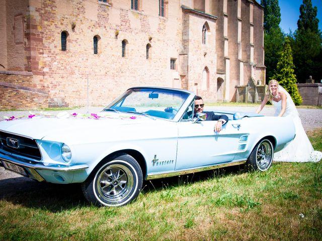 Le mariage de Nicolas et Laetitia à Wissembourg, Bas Rhin 22