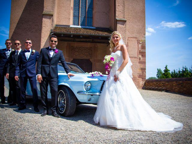 Le mariage de Nicolas et Laetitia à Wissembourg, Bas Rhin 26