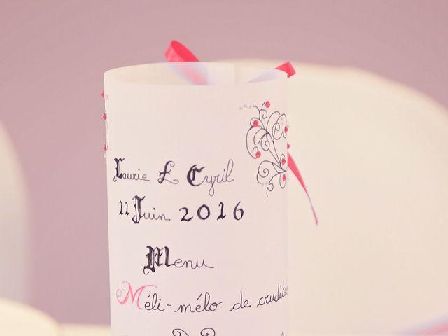 Le mariage de Cyril et Laurie à Portes-lès-Valence, Drôme 37