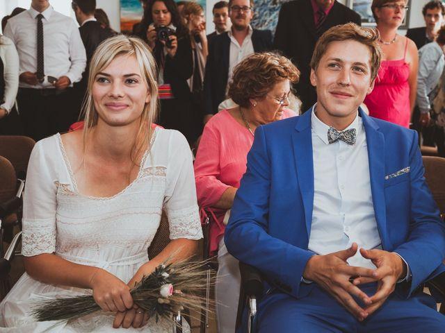 Le mariage de Clément et Clémentine à Regnéville-sur-Mer, Manche 3