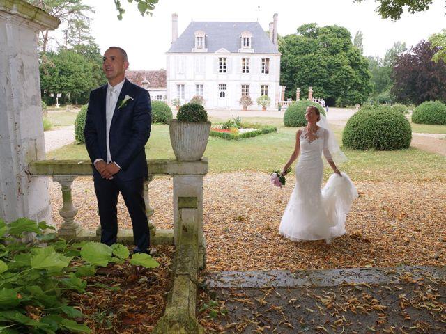 Le mariage de François et Claire à Massay, Cher 7
