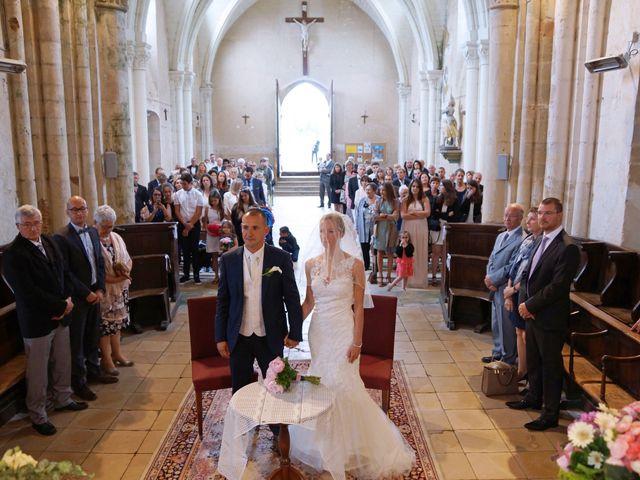 Le mariage de François et Claire à Massay, Cher 16
