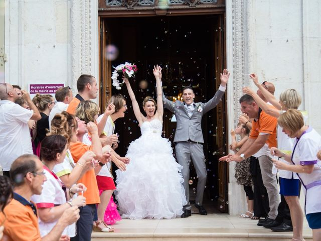 Le mariage de Sylvain et Elodie à Tullins, Isère 71
