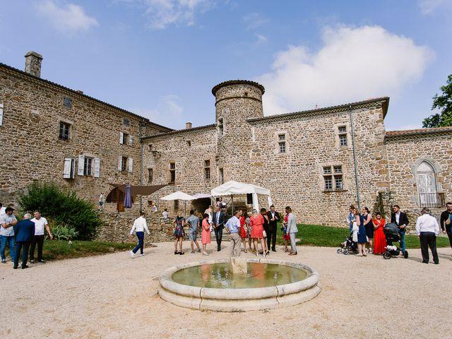 Le mariage de Loïc et Angélique à Saint-Romain-d'Ay, Ardèche 34