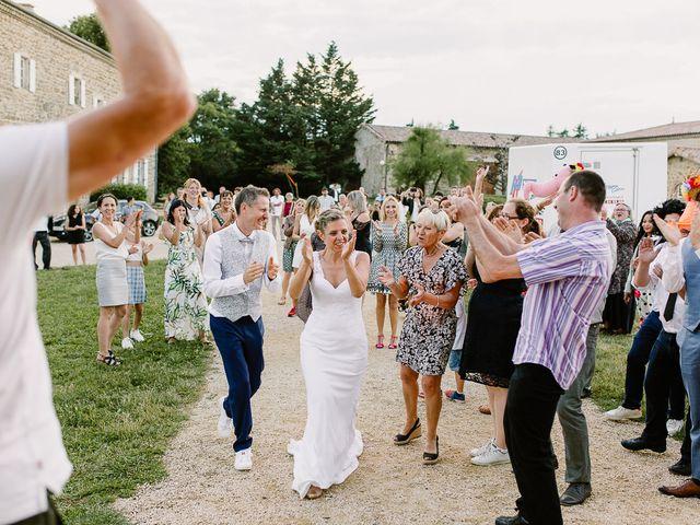 Le mariage de Loïc et Angélique à Saint-Romain-d'Ay, Ardèche 63