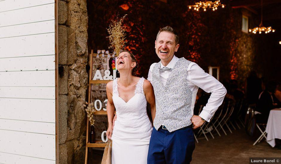 Le mariage de Loïc et Angélique à Saint-Romain-d'Ay, Ardèche