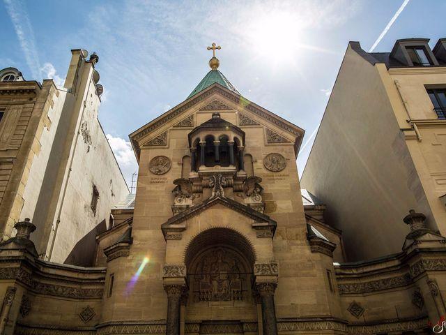 Le mariage de Sevan et Clementine à Paris, Paris 21
