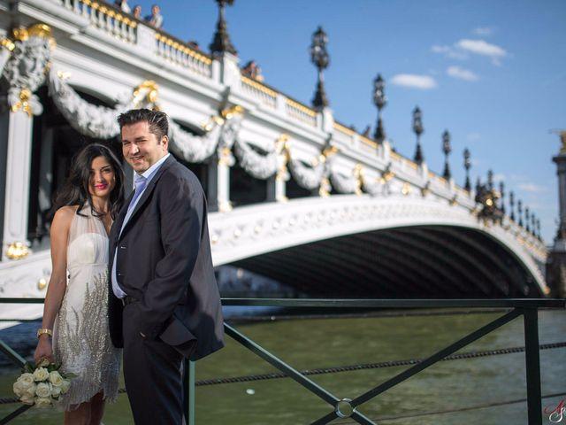 Le mariage de Sevan et Clementine à Paris, Paris 62