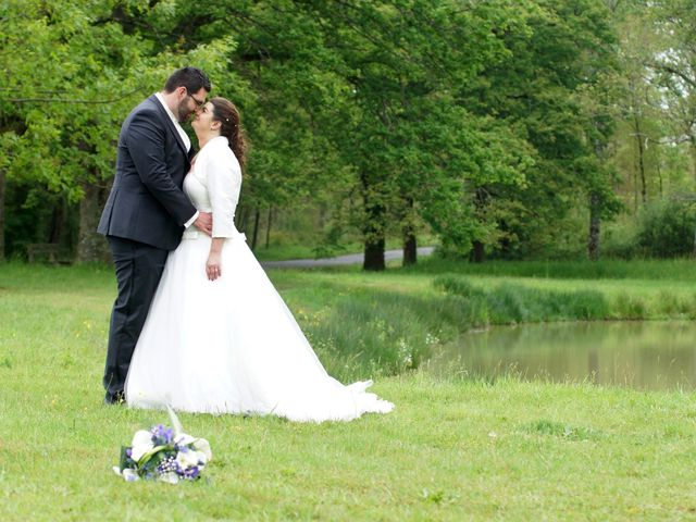 Le mariage de Pierre-Gaël et Faiyza à Aubigny-sur-Nère, Cher 7