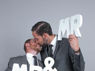 Le mariage de Didier et David