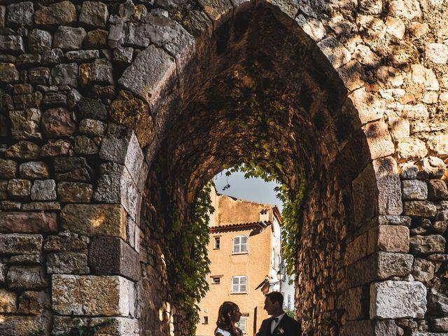 Le mariage de Florent et Ariane à Fayence, Var 5