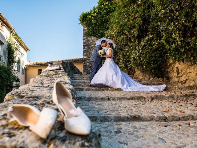 Le mariage de Florent et Ariane à Fayence, Var 2
