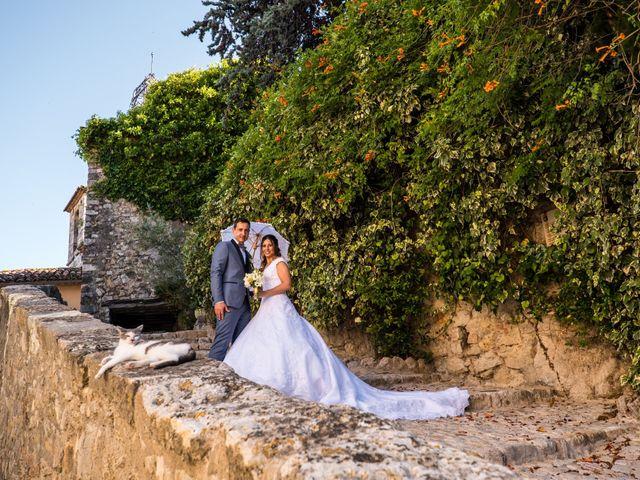 Le mariage de Florent et Ariane à Fayence, Var 6