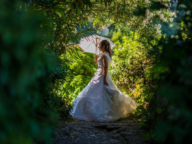 Le mariage de Florent et Ariane à Fayence, Var 8