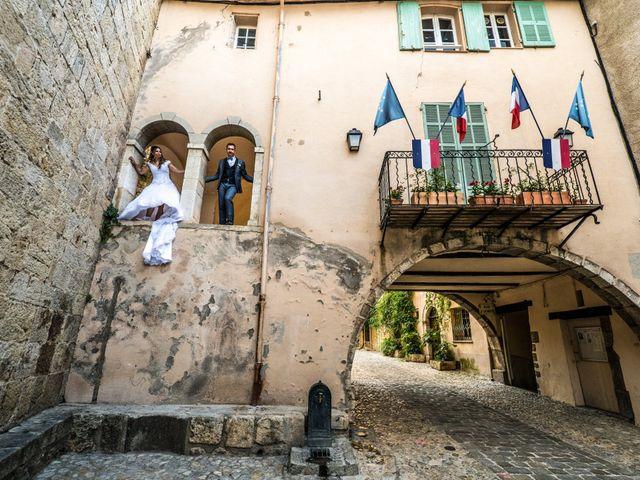 Le mariage de Florent et Ariane à Fayence, Var 1