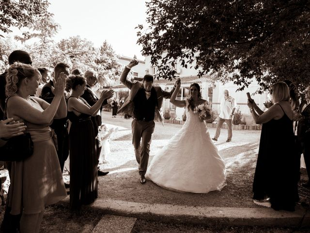 Le mariage de Florent et Ariane à Fayence, Var 13
