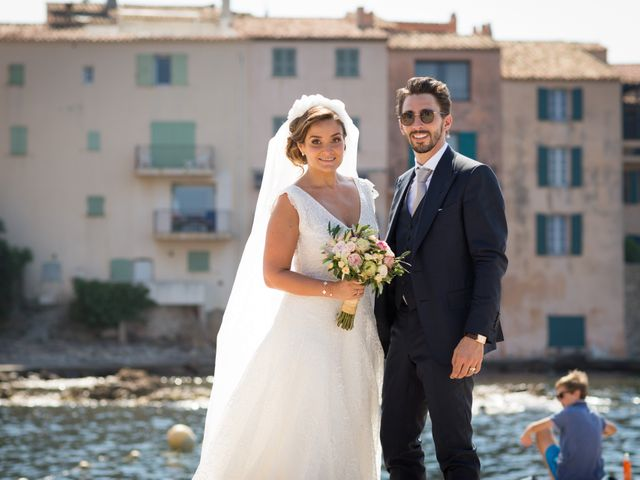 Le mariage de Romain et Julianna à Saint-Tropez, Var 7
