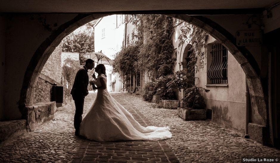 Le mariage de Florent et Ariane à Fayence, Var