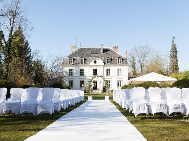 Le mariage de Thomas-Elie et Céline à Le Coudray-Montceaux, Essonne 2