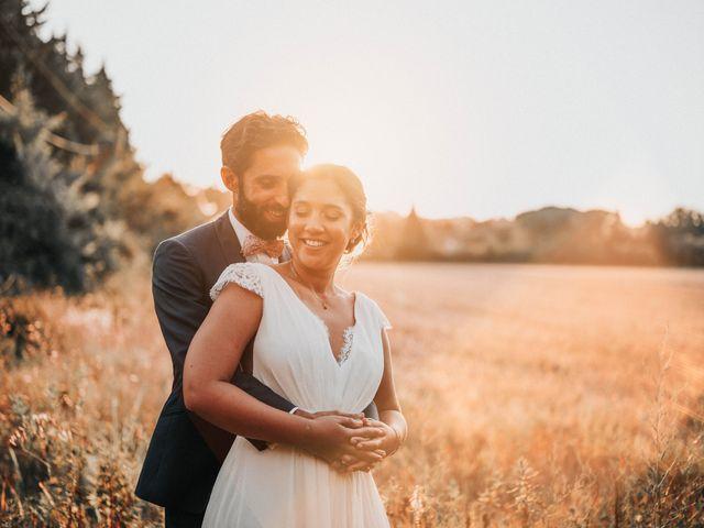 Le mariage de Nedjma et François