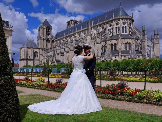 Le mariage de Aymeric et Anne-Héloïse à Sens-Beaujeu, Cher 2
