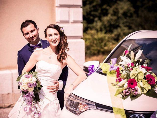 Le mariage de Alexandre et Aurélie à Chamblay, Jura 20