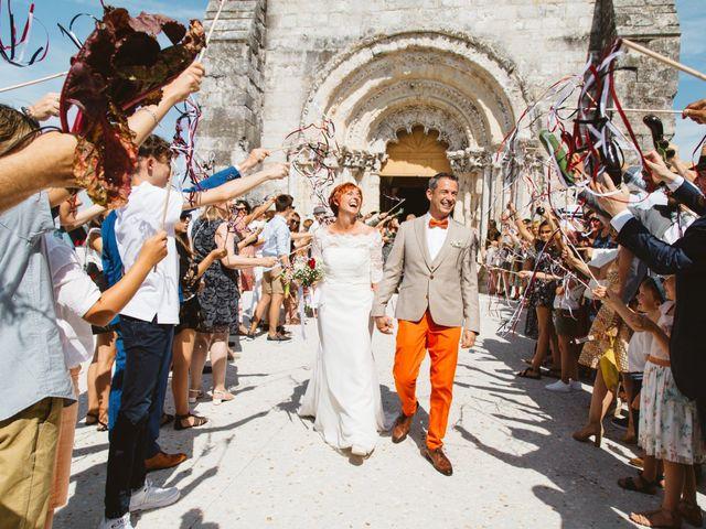 Le mariage de Guillaume et Céline à Condéon, Charente 64