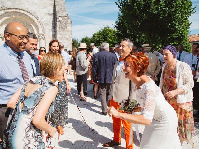 Le mariage de Guillaume et Céline à Condéon, Charente 65