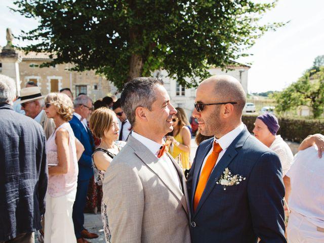 Le mariage de Guillaume et Céline à Condéon, Charente 66