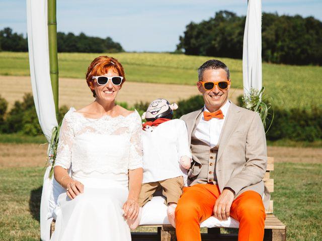 Le mariage de Guillaume et Céline à Condéon, Charente 77