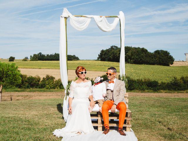 Le mariage de Guillaume et Céline à Condéon, Charente 78