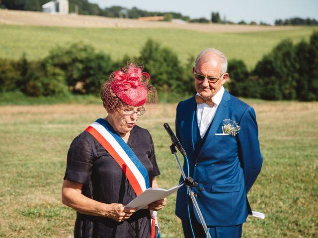 Le mariage de Guillaume et Céline à Condéon, Charente 80