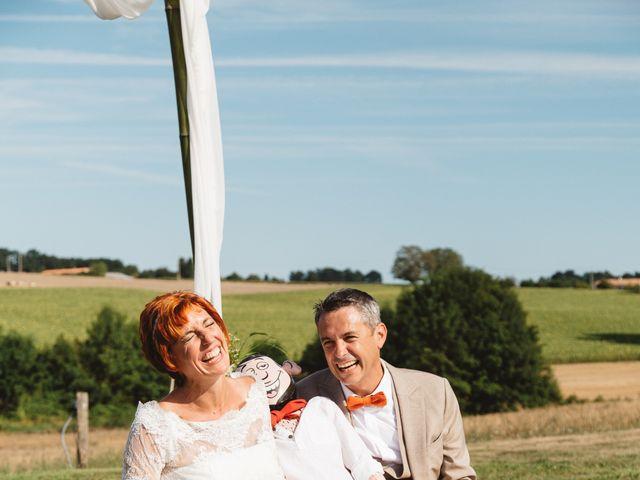 Le mariage de Guillaume et Céline à Condéon, Charente 82