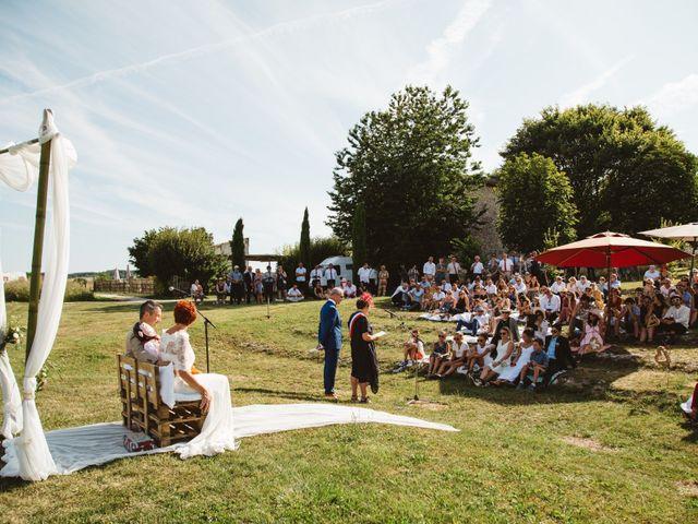 Le mariage de Guillaume et Céline à Condéon, Charente 83