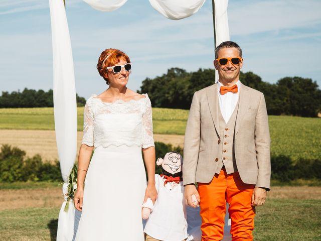 Le mariage de Guillaume et Céline à Condéon, Charente 84