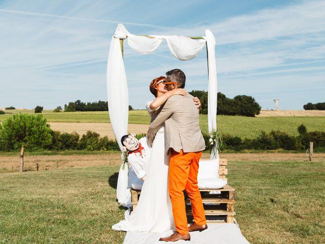 Le mariage de Guillaume et Céline à Condéon, Charente 85
