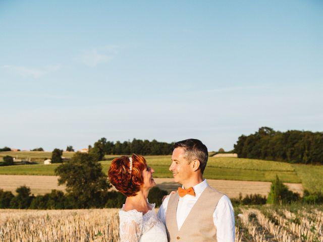 Le mariage de Guillaume et Céline à Condéon, Charente 1
