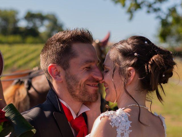 Le mariage de Alex et Alice à Saint-Thomas-de-Cônac, Charente Maritime 1