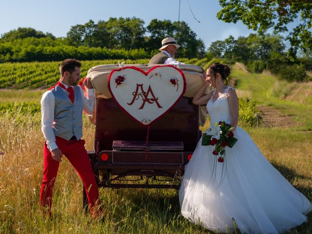 Le mariage de Alex et Alice à Saint-Thomas-de-Cônac, Charente Maritime 18