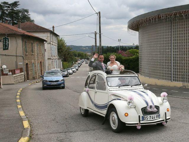 Le mariage de Alexandre et Marjorie à Épinouze, Drôme 30