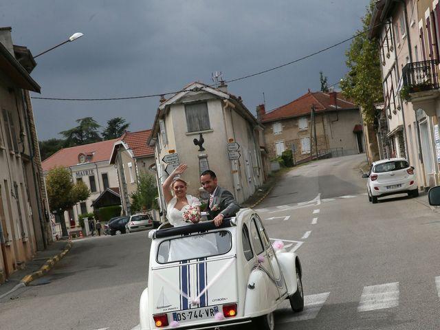 Le mariage de Alexandre et Marjorie à Épinouze, Drôme 31
